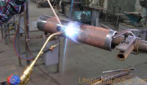 газовая сварка труб отопления