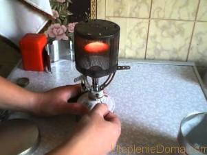 Газовый обогреватель своими руками