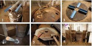 конструкции печей длительного горения