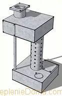 схема пиролизной печи на отработанном масле