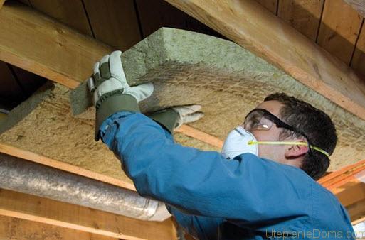 Как утеплить крышу гаража изнутри