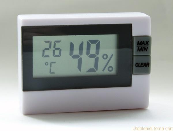 как определить влажность воздуха в квартире