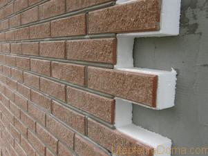утепления стены из газосиликатных блоков