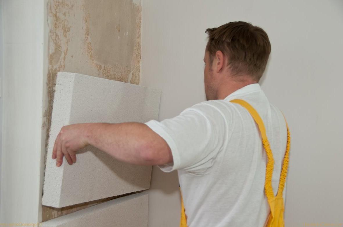 Утепление стен изнутри квартиры своими руками