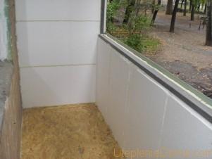 как утеплить балкон в панельном доме
