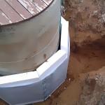 утепление колодца водопровода