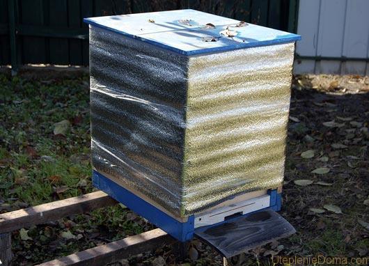 утепление пчел в зиму