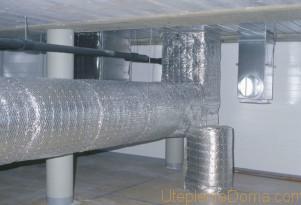 асчет толщины теплоизоляции воздуховодов