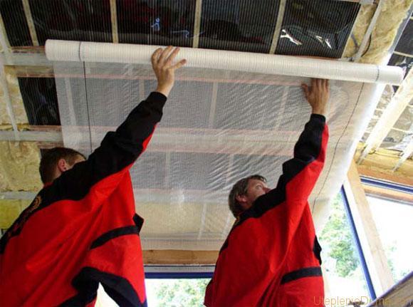 как правильно сделать пароизоляцию крыши