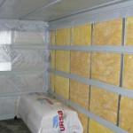 Как утеплить стекловатой стены