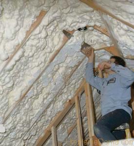 Какой выбрать утеплитель для дома на крышу