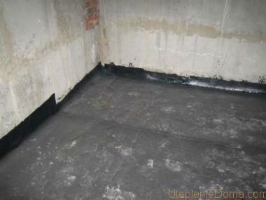 гидроизоляция внутри подвала