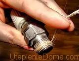 резьбовые соединения труб отопления