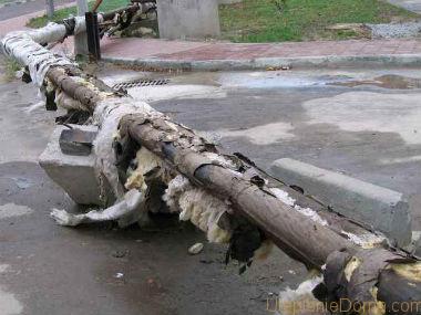 Теплоизоляция труб минватой