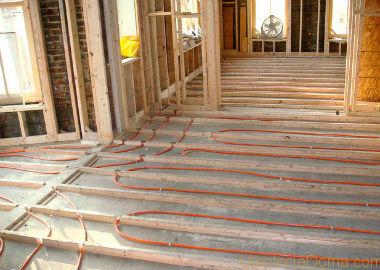 теплый пол по деревянному перекрытию