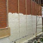 Материал в утеплении фасада