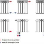 подключение алюминиевых радиаторов к отоплению