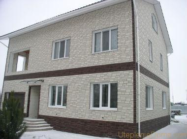 Панели для утепления фасада дома