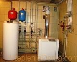 отопление коттеджа газом