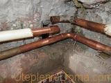 ремонт медных труб