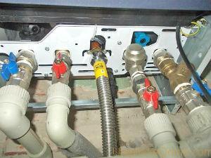 схемы подключения двухконтурного газового котла