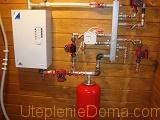 как подключить электрокотел в систему отопления