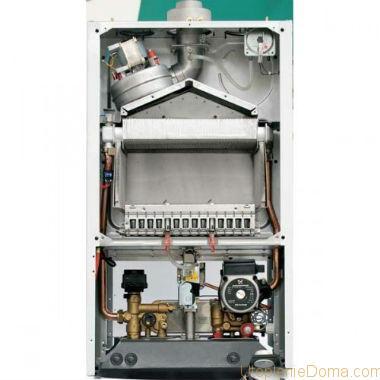 Одноконтурный газовый котел с закрытой камерой сгорания