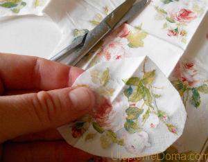 декупаж салфетками своими руками для начинающих