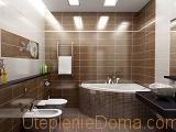 Делать гидроизоляцию стен ванной комнаты под плитку не обязательно, если качественно затереть швы