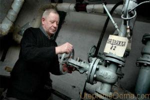 Первый этап замены – перекрытие стояка и выпуск из него теплоносителя