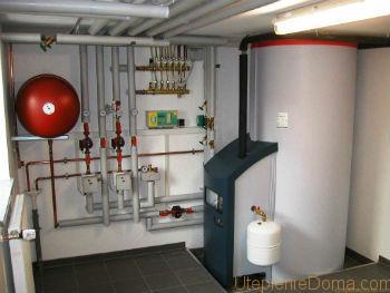 Отопление дачи без газа и электричества