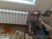 В многоэтажном доме замена стояков отопления выполняется сотрудниками ЖЭКа